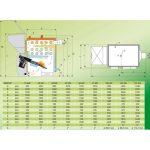 Granulinis katilas KWM-SP 19 kW techninė informacija