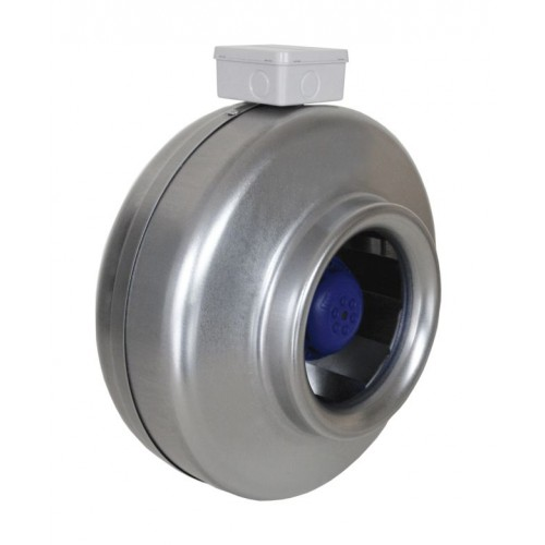 Kanalinis ventiliatorius d100 metal. AKM100